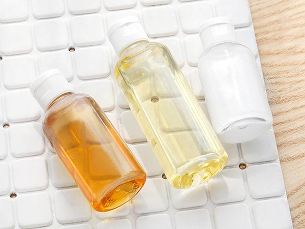 【DT髮品】旅遊必備 隨身瓶 透明 分裝罐 乳液瓶 分裝瓶 掀蓋式 空瓶 空罐 【0020162】