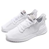 adidas 休閒鞋 U_Path Run W 全白 白 男鞋 女鞋 襪套式 復古慢跑鞋 運動鞋 小白鞋 【ACS】 G27637