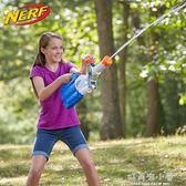 兒童成人對戰水槍戲水玩具孩之寶NERF熱火水龍系列海嘯發射器 好再來小屋 igo
