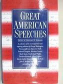 【書寶二手書T1/原文小說_CQQ】Great American Speeches_Suriano, Gregory R.