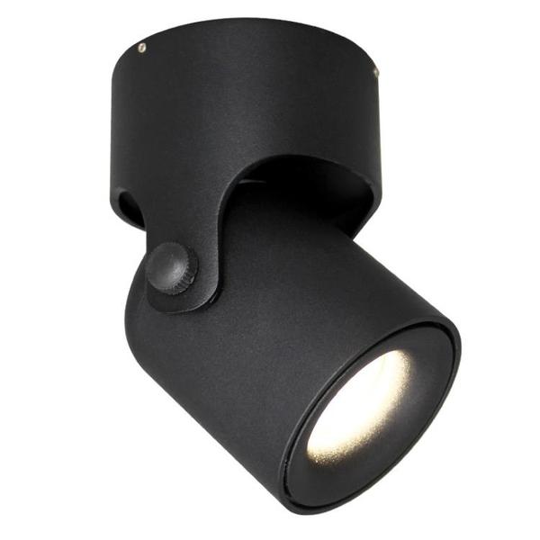 射燈 愛斯蘭北歐家用COB極簡背景墻天花玄關壁畫全鋁LED明裝式吸頂射燈 WJ米家