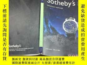 二手書博民逛書店SOTHEBYS蘇富比(2004,4.27)IMPORTANT罕