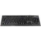 新竹【超人3C】雙飛燕 A4 TECH KR-85 PS2圓角舒防水鍵盤