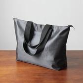 手拎袋大容量逛街購物袋旅行收納包大號手提袋
