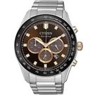 CITIZEN/星辰 光動能 限量 三眼計時 男錶 CA4456-83X 亞洲限定/43mm