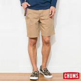 CHUMS 日本 男 Zion 風格窄版短褲 附腰帶 卡其 CH031021B001