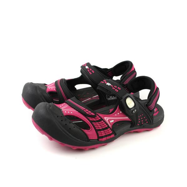 GP (Gold.Pigon) 阿亮代言 涼鞋 護趾 防水 雨天 前包式 女鞋 黑色 桃色 G7668W-15 no802