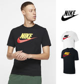 【GT】Nike Sportswear 黑白 短袖T恤 純棉 運動 休閒 上衣 短T 基本款 Logo
