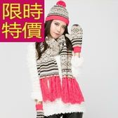 圍巾+毛帽+手套羊毛三件套-必買別緻韓風溫暖女配件63n46【巴黎精品】