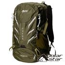 【PolarStar】透氣網架登山背包 40L『綠色』P20804 露營.戶外.旅遊.多隔間.登山背包.後背包.肩背包