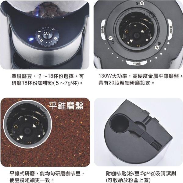 ◤Kolin歌林◢ 20段平錐磨盤專業磨豆機 KJE-LNG603 超商限2台