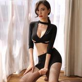 性感包臀秘書三點式情趣內衣制服sm騷激情用品套裝透視夜火女小胸