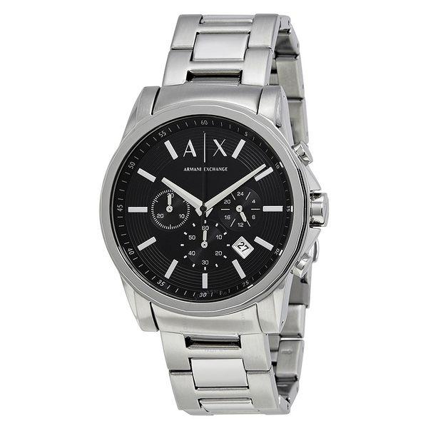 ARMANI AX亞曼尼 三眼日期窗男錶 AX2084經典款式 男錶女錶對錶情侶錶 送禮