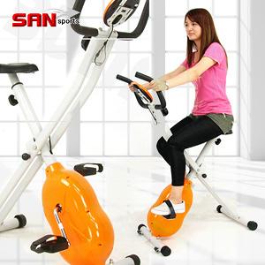 健身車│【SAN SPORTS】磁控飛輪式MAX室內腳踏車.折疊健身車.美腿機推薦哪裡買熱銷專賣店