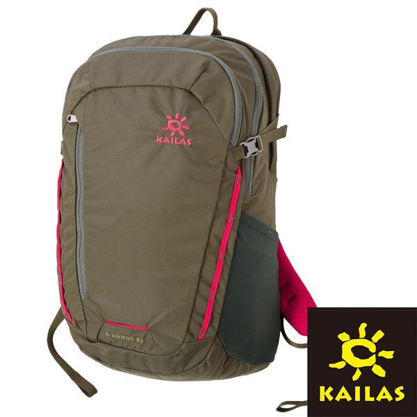 【Kailas】天馬 (S-Horse)電腦休閒 背包 25L 『深灰綠/粉紅』KA400028 登山.露營.休閒.旅遊.戶外.後背包