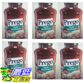 [COSCO代購]  W918698 Prego 普格 蘑菇口味義大利麵醬 1.27公斤 (6入裝)
