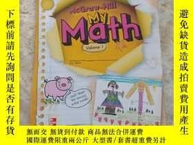 二手書博民逛書店罕見-Hill My Math Volume 1Y205621