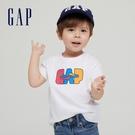 Gap男幼童 Gap x Ken Lo 藝術家聯名系列純棉短袖T恤 854744-白色
