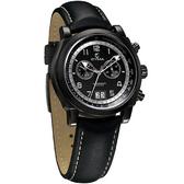CYMA 極簡優雅都會計時錶(全黑)