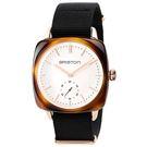 【萬年鐘錶】BRISTON  法國時尚 錶框  黑Nylon帶  17440-PRA-TVI-2-NB