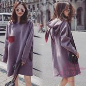 (一件免運)孕婦秋裝套裝時尚款新品正韓冬裝孕婦連身裙秋冬季兩件套潮媽