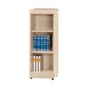 【采桔家居】阿米夫 時尚1.3尺開放式三格書櫃/收納櫃(二色可選)