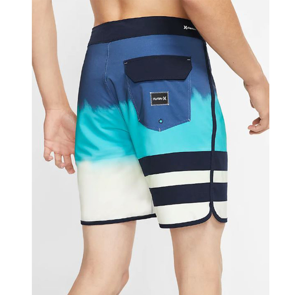 Hurley  M PHNTM BP FEVER BLACK  海灘褲-藍(男)