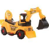 電動挖掘機玩具大號兒童電動玩具挖掘機可坐可騎挖土機 【四月特賣】LX
