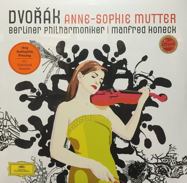 【停看聽音響唱片】【黑膠LP】Dvorak.Anne-Sophie Mutter.Berliner Philharmoniker.Manfred Honeck