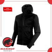 【MAMMUT 瑞士 Ultimate V SO Hooded Jkt 男《黑》】1011-00061/防風/保暖/軟殼外套