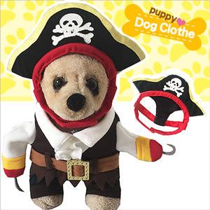 寵物衣│搞怪海盜變身寵物服裝.秋冬保暖.寵物百貨服飾.毛小孩中小型犬狗貓衣服用品推薦專賣店