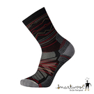 Smartwool 機能戶外全輕量減震山嶺印花中長襪『黑』SW001615 美國製|保暖襪|登山襪|運動襪