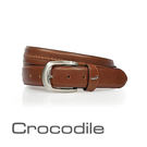Crocodile Natural系列休閒皮帶 0102-30032