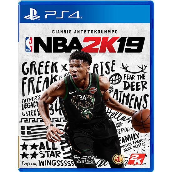 [哈GAME族]現貨熱賣中 免運費 可刷卡●含首批預購數位內容●PS4 NBA 2K19 中英文合版 美國職業籃球