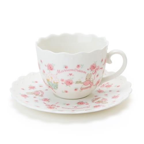 Sanrio 兔媽媽杯子蛋糕系列陶磁杯盤組★funbox★_960501