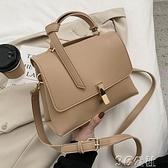 手提包 休閒女士小包包女包新款潮時尚手提小方包百搭單肩斜挎包 快速出貨