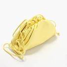 ■專櫃88折■ 全新真品■Bottega Veneta 585852 小款雲朵包 檸檬雪酪色