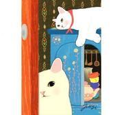 JETOY,Choo Choo 甜蜜貓第二代明信片_Room《生活美學》