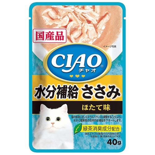 【寵物王國】日本INABA CIAO電解質水分補給巧餐包 40g
