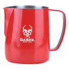 金時代書香咖啡 GABEE. 1407B拉花杯 300CC (紅)  HC7104R