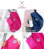 韓版 多功能變換可折疊收納包 單肩包 雙肩背包