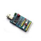 CH341A USB轉 I2C/IIC/SPI/UART/TTL/ISP 適配器 EPP/MEM 並口轉換器 [電世界]