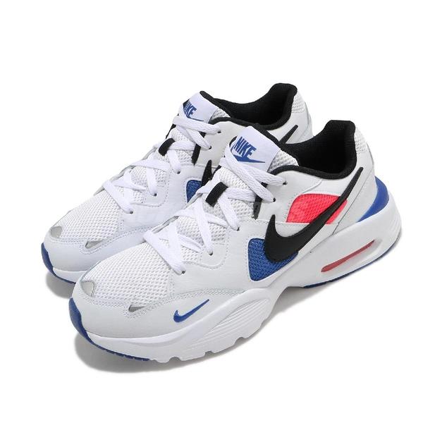 Nike 休閒鞋 Air Max Fusion 白 藍 男鞋 氣墊 基本款 【ACS】 CJ1670-104