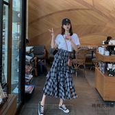 法式時尚短袖T恤半身裙子兩件套裝女【時尚大衣櫥】