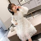 女童小香風公主裙秋裝2020新款洋氣女孩童裝紗裙裙子兒童洋裝潮 Cocoa