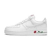 Nike Air Force 1 'LX 男 白 玫瑰 休閒鞋 CU6312-100