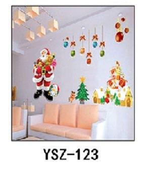 兒童房/店面佈置卡通DIY牆貼/壁貼.情境壁貼聖誕款