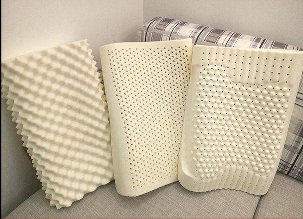 泰國乳膠枕頭 成人頸椎枕護頸枕 失眠保健枕 純天然橡膠記憶枕芯