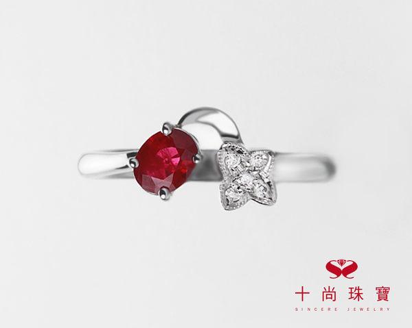 Classic story 系列 - 天然紅寶石鑽戒  十尚珠寶