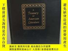 二手書博民逛書店美國文學經典罕見1860-1900 A Treasury of
